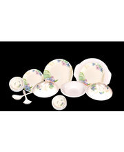 My Kitchen 32 Pcs Melamine Dinner Set LE-MYK-005, Multicolor