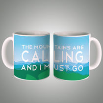 Mountains Are Calling Mug, multicolor