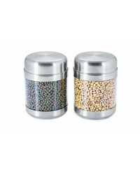 Sizzle Clear Containers 850 ml Set of 2, multicolor