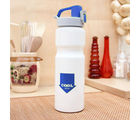 Simply Solid 750ML single wall bottle-HF-28A-18BLU, blue