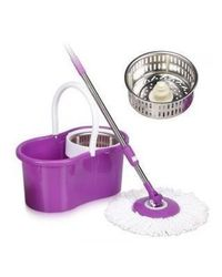 Eco Alpine Bucket Mop & Heavy Rod with 14 Pcs Container Set Combo, multicolor