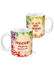 Friendship Flowers HD Mug