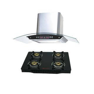 Quba-G402A-4-Burner-Gas-Cooktop-(With-Electric-Chimney-1115)