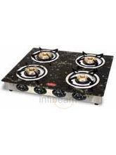 4 Burner Gas Stove-CS-4GTA (Black)