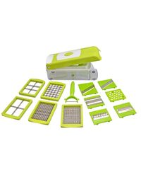Eco Alpine 12 In One Multifunction Nicer Dicer, multicolor