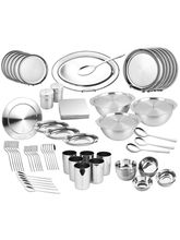Zain 86 Pcs Dinner Set (Silver)