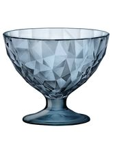 Wonderchef Bormioli Diamond Jr Dessert Bowl - Blue 220ml(Pack Of 2), Blue