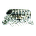 Signoracare Stainless Steel Dinner Set, silver