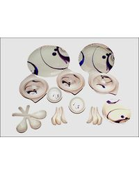 Lifestyle Melamine Dinner Set of 40 Pcs LE-PG-012, multicolor