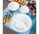 Corelle Kids Collection Cup Cakes Dinner Set Of 6 Pcs, multicolor