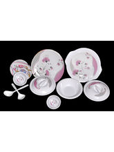 Choice 32 Pcs Melamine Dinner Set LE-CH-006, Multicolor