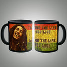 Bob Marley Love The Life Mug, multicolor