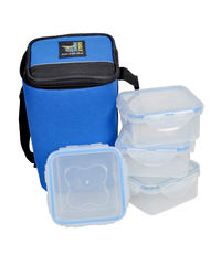 Eagle Home Water Tighty Lunch Bag Vr-400Ml* 4, multicolor