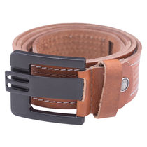 Leather Belt,  tan, xxl