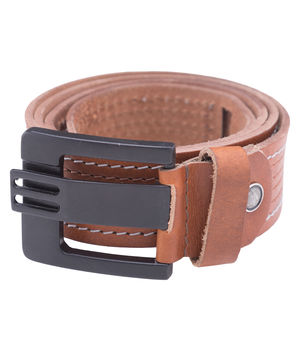 Leather Belt, xxl,  tan