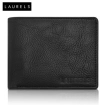Laurels Urbane Men's Wallet (Lw-Urb-02), black