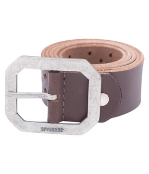 Leather Belt, xl,  dark brown