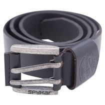 Leather Belt,  black, m