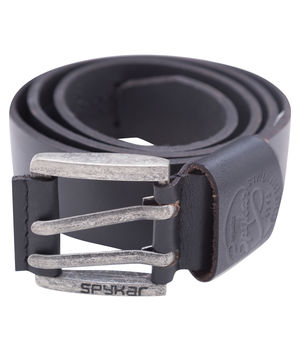 Leather Belt, m,  black
