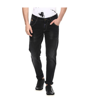 Skinny Low Rise Narrow Fit Jeans, 32,  black