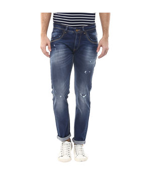 Skinny Low Rise Narrow Fit Jeans, 36,  dark blue
