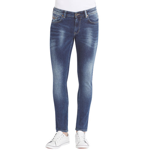 Low Rise Tight Fit Jeans, 30,  mid blue