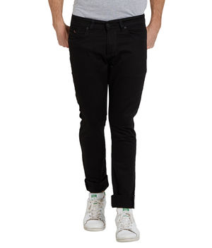Low Rise Narrow Fit Jeans, 34,  black