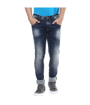 Low Rise Tight Fit Jeans, 36,  mid blue