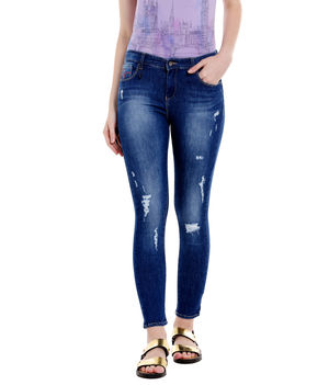 Low Rise Skinny Fit Jeans,  blue, 30
