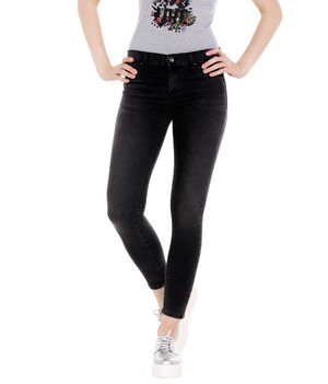 Low Rise Super Skinny Fit Jeans,  black, 28