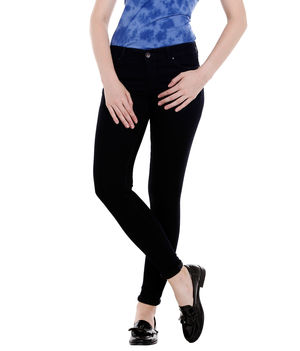 Low Rise Jegging Fit Jeans,  black, 32