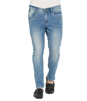 Slim Low Rise Narrow Fit Jeans, 38,  light blue