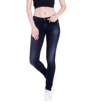 Low Rise Jegging Fit Jeans,  blue, 36
