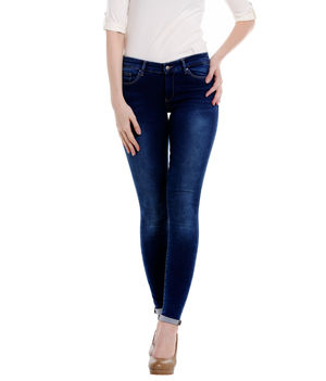 Low Rise Jegging Fit Jeans,  blue, 26