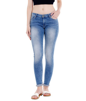 Low Rise Jegging Fit Jeans,  blue, 34