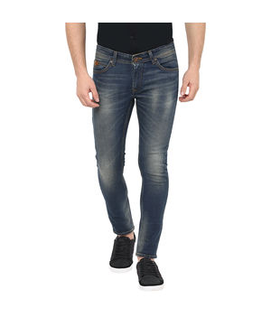 Super Skinny Low Rise Tight Fit Jeans, 28,  tinted