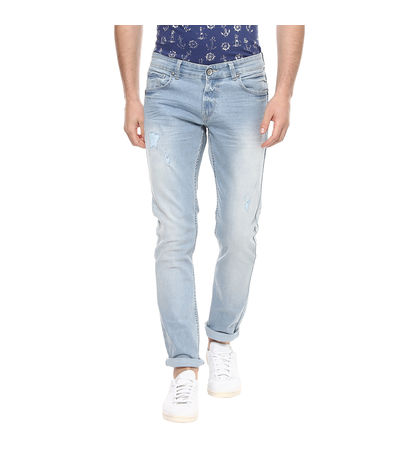 Skinny Low Rise Narrow Fit Jeans, 30,  light blue
