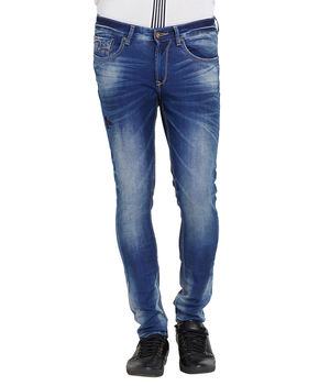 Low Rise Tight Fit Jeans, 32,  ink blue