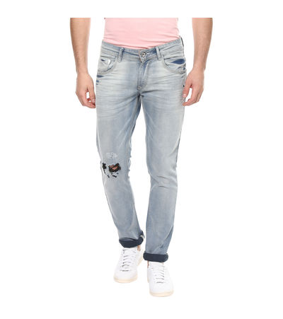 Skinny Low Rise Narrow Fit Jeans, 28,  light blue