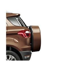 Stepney Cover suitable for Ford Ecosport Color Golden Bronze, gold