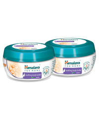 Himalaya For Moms Soothing Body Butter-Jasmine 200 Ml-Pack Of 2