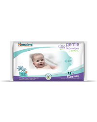 Himalaya Gentle Baby Wipes 12'S