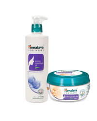 Himalaya For Moms Tonning Massage Oil 500 Ml And Soothing Body Butter 200 Ml