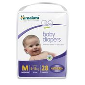 Himalaya Baby Diapers Medium 28 Pcs