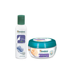 Himalaya For Moms Tonning Massage Oil 200 Ml And Soothing Body Butter 200 Ml