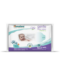 Himalaya Gentle Baby Wipes 24'S