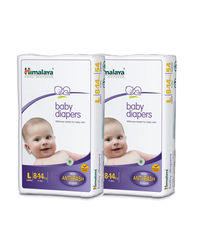 Himalaya Baby Diapers Large 28 Pcs-Pack Of 2