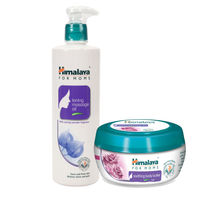 Himalaya For Moms Tonning Massage Oil 500 Ml And Soothing Body Butter 50 Ml