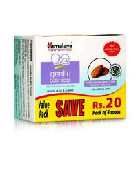 Himalaya Gentle Baby Soap Value Pack-75* 4Gm