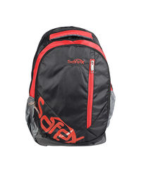 Safex Pepsi College Backpacks, black and red